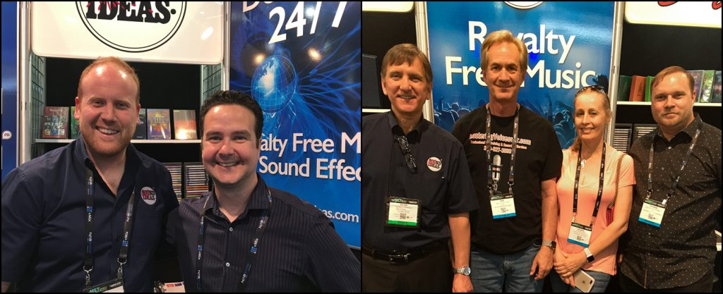 Sound Ideas Customers at NAB 2017