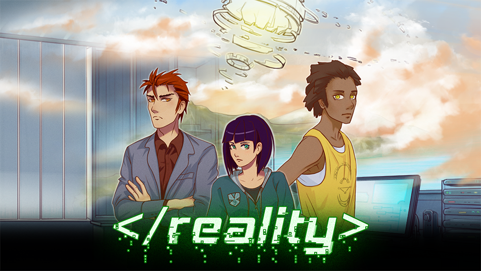 </reality> Visual Novel Game - Created by Fancy Fish Games