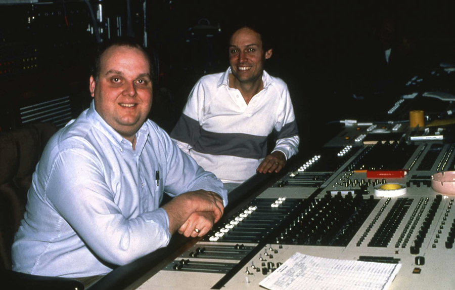 Mixing sound in Hollywood, The Black Cauldron with director Rick Rich.