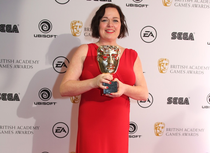 Jessica Curry at the 2016 Games Music BAFTA Awards
