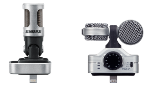 Shure MV88 & Zoom iQ7